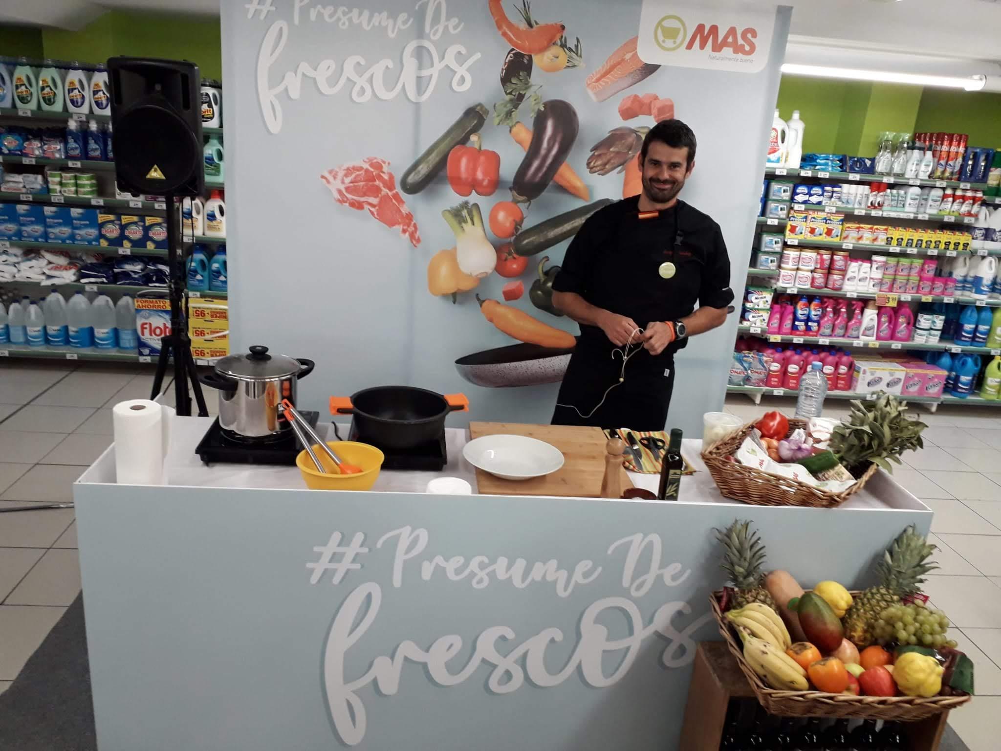 Presume de frescos - Supermercados MÁS